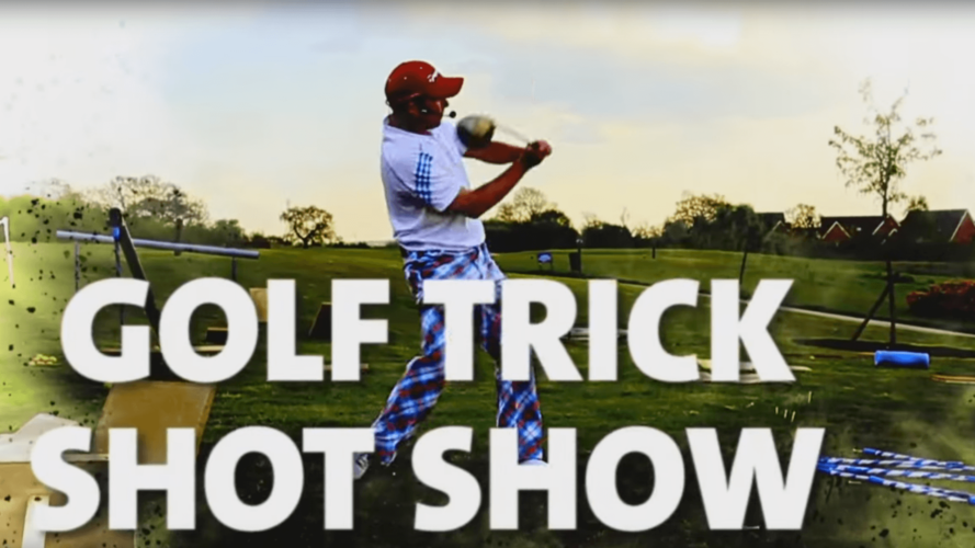 Prepare to be amazed, as 'Tricky Rob' brings his acclaimed golf show to Four Ashes!