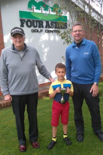 Talented Spencer already reaping the benefit of his Four Ashes golf lessons!