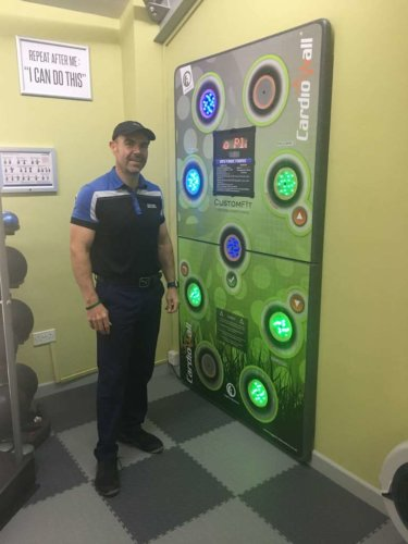 David's 'custom-fit' service to making his clients fit and healthy…!