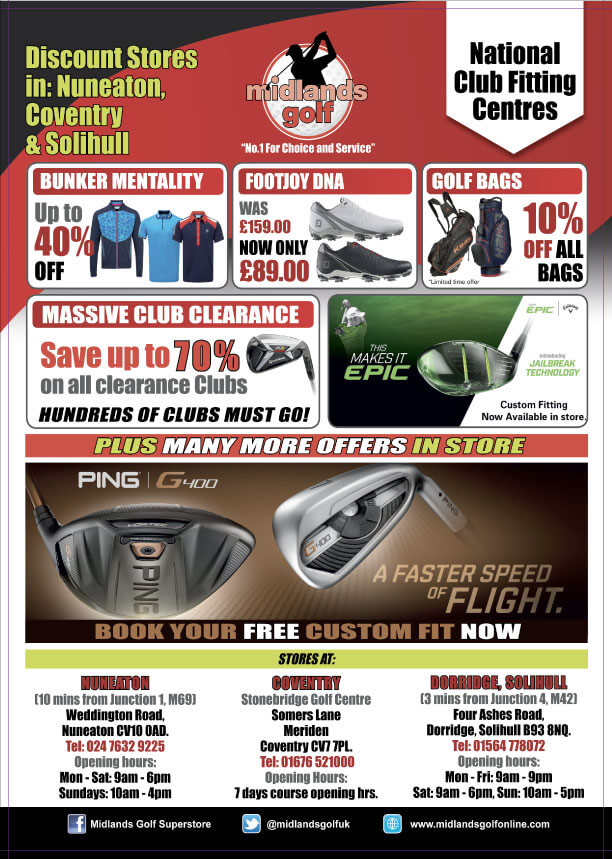 midlands golf advert august