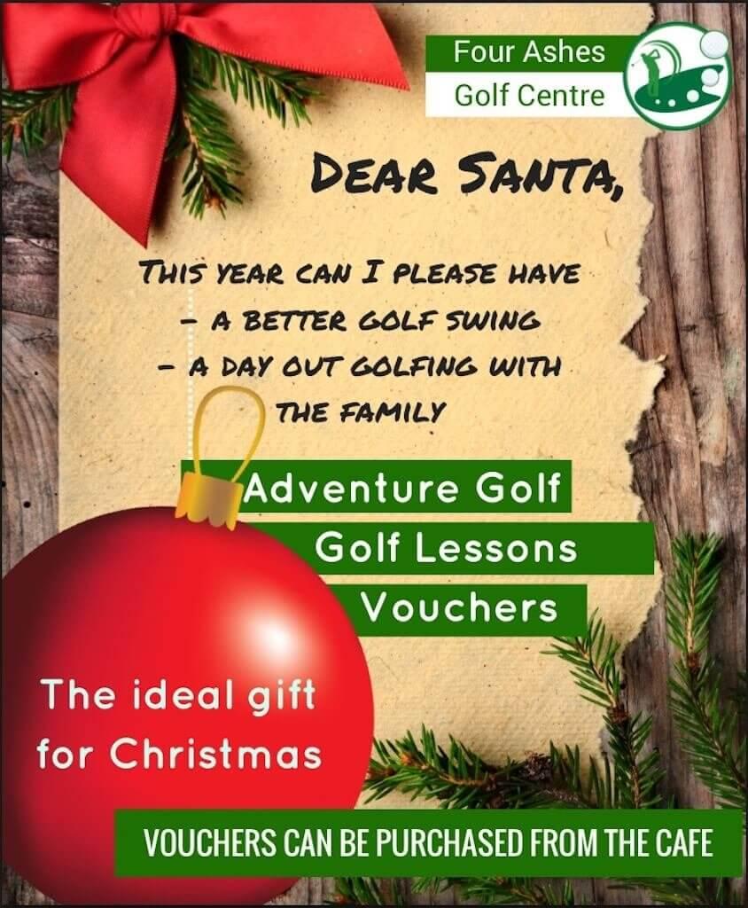 santa-golf