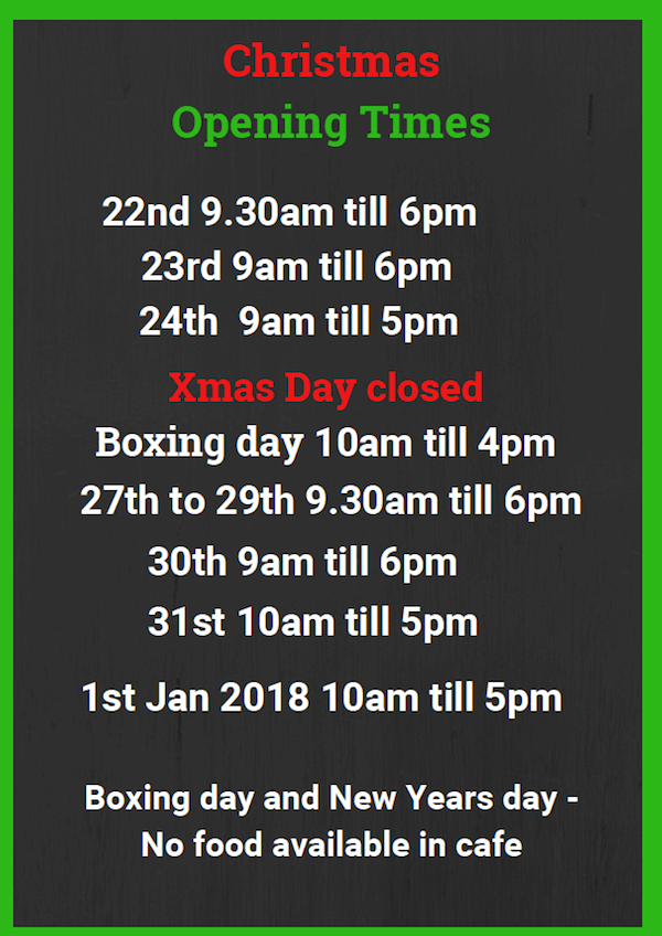 four-ashes-golf-centre-christmas-opening-times