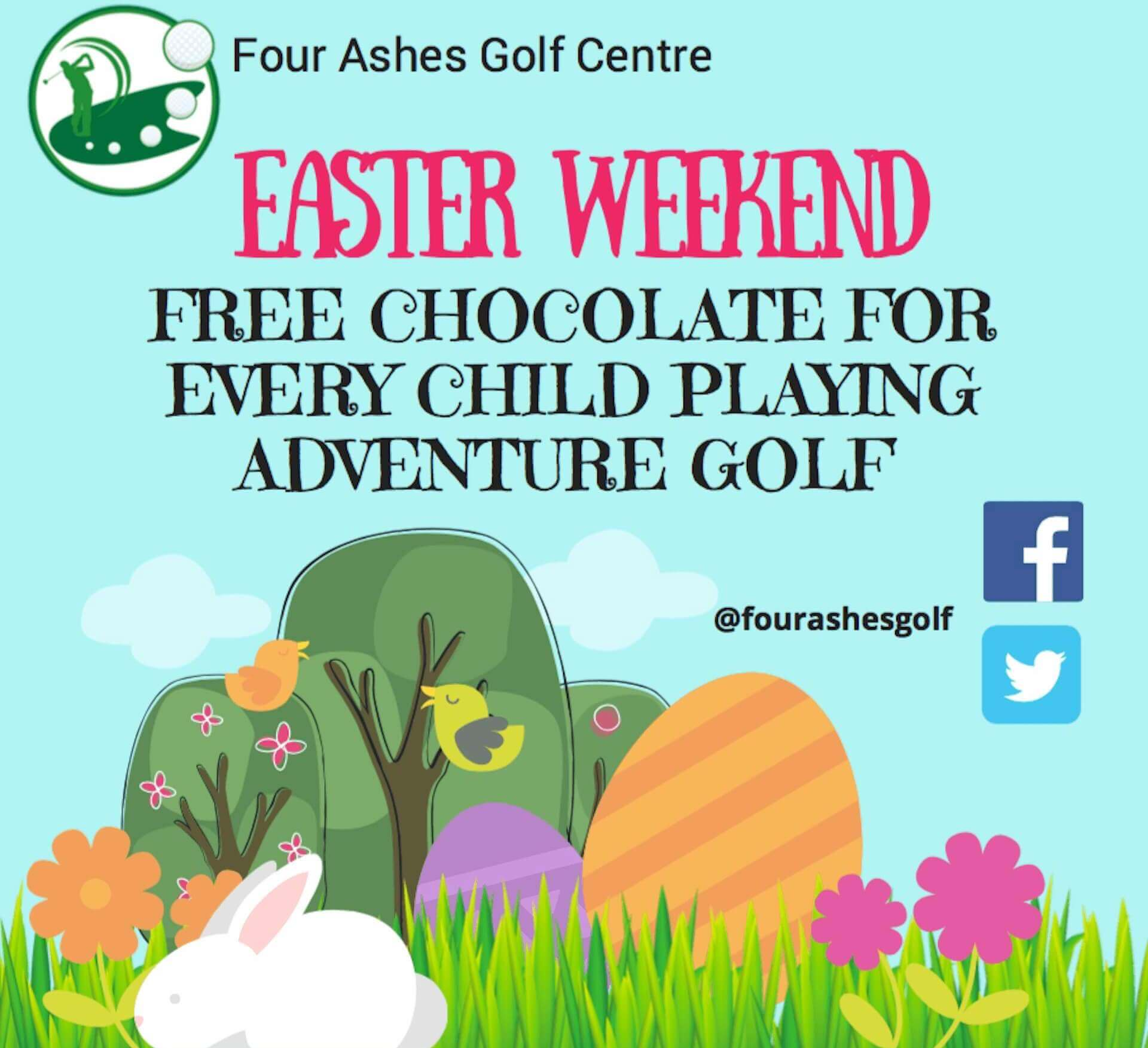 Four Ashes Golf Centre Easter 2018