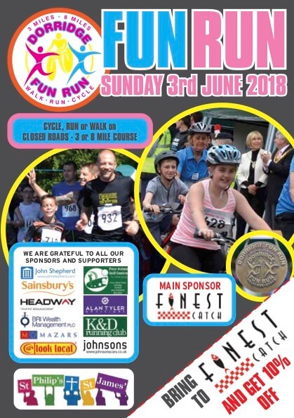 Dorridge Fun Run 2018 front