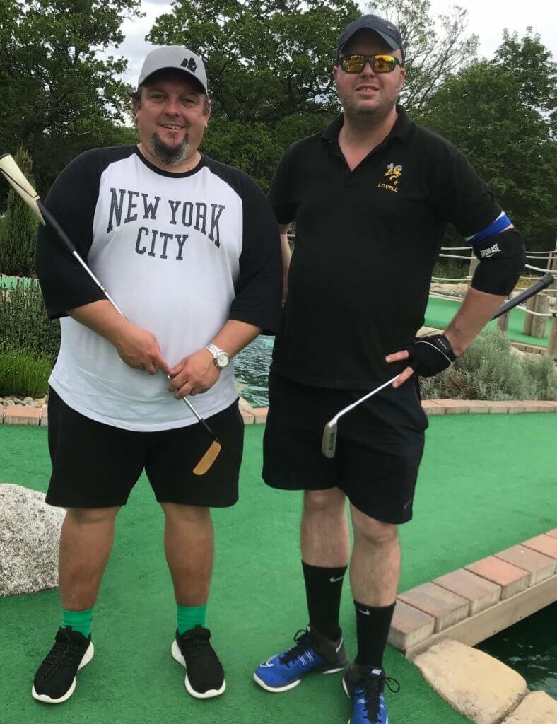 Scott Lancley and Steve Lovell