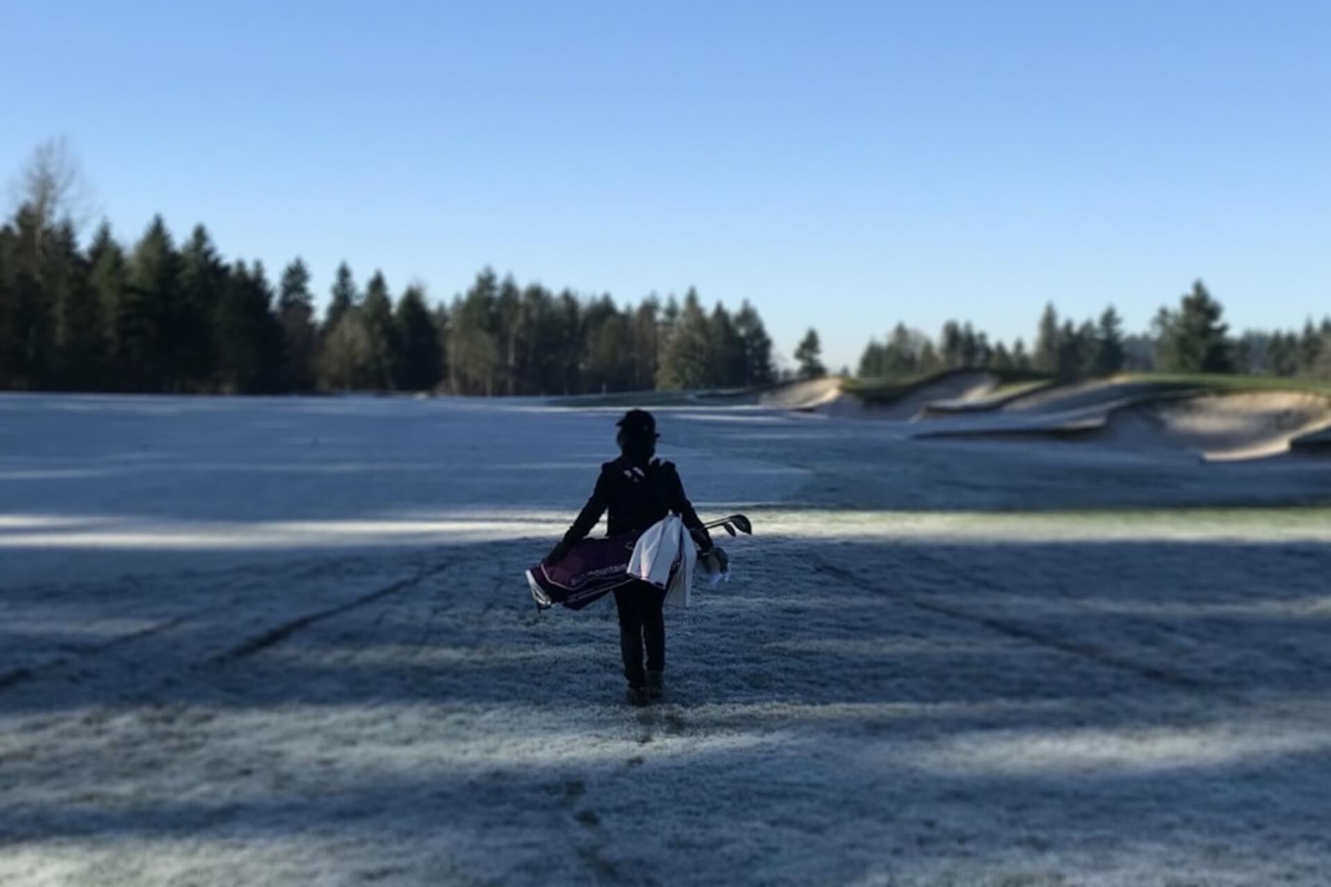 winter-golfing