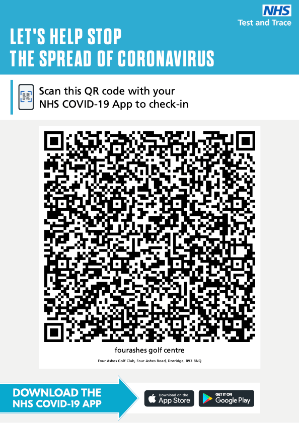 Four ashes QR code track and Trace